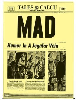 Mad Magazine #16 (NOOK Comic with Zoom View)