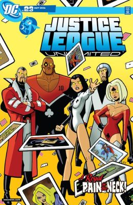 Justice League Unlimited #23 (NOOK Comic with Zoom View)