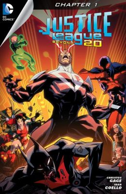 Justice League Beyond 2.0 #1 (2013- ) (NOOK Comic with Zoom View)