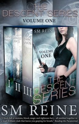 The Descent Series, Books 1-3: Death's Hand, The Darkest Gate, and Dark Union