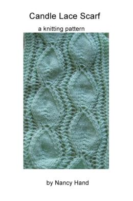 Candle-Lace Scarf