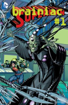 Superman (2011- ) Featuring Brainiac #23.2 (NOOK Comic with Zoom View)