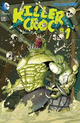 Batman and Robin (2011- ) Featuring Killer Croc #23.4 (NOOK Comic with Zoom View)