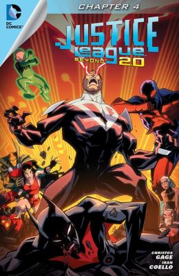 Justice League Beyond 2.0 (2013- ) #4 (NOOK Comic with Zoom View)