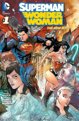 Superman/Wonder Woman (2013- ) #1 (NOOK Comic with Zoom View)