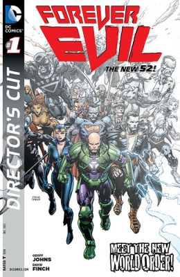 Forever Evil (2013- ) Director's Cut #1 (NOOK Comic with Zoom View)