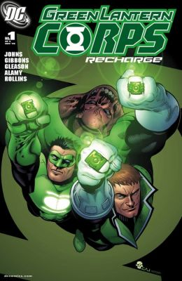 Green Lantern Corps: Recharge #1 (NOOK Comic with Zoom View)