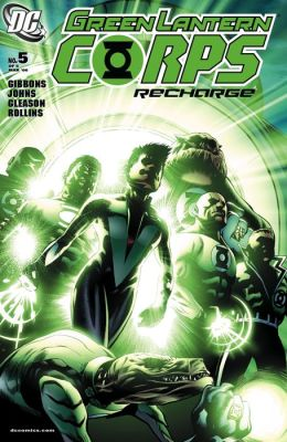 Green Lantern Corps: Recharge #5 (NOOK Comic with Zoom View)