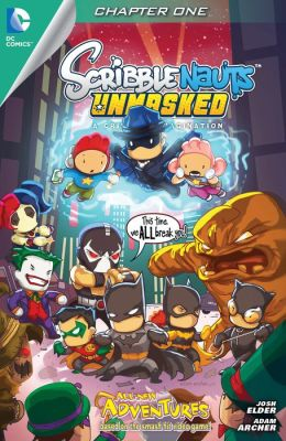 Scribblenauts Unmasked: A Crisis of Imagination #1 (NOOK Comic with Zoom View)