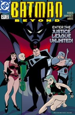 Batman Beyond (1999-2001) #21 (NOOK Comic with Zoom View)