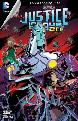 Justice League Beyond 2.0 (2013- ) #10 (NOOK Comic with Zoom View)