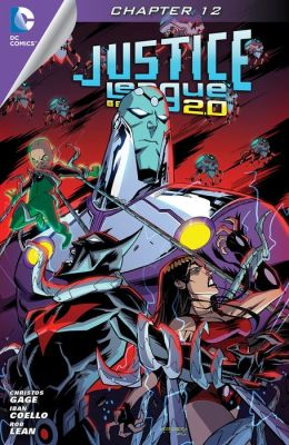 Justice League Beyond 2.0 (2013- ) #12 (NOOK Comic with Zoom View)