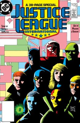 Justice League International (1987-1996) #7 (NOOK Comic with Zoom View)