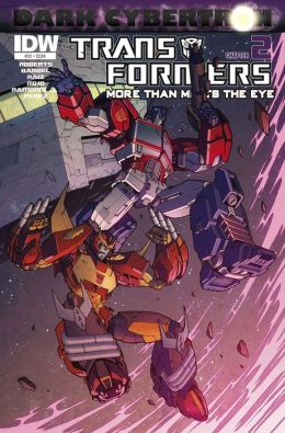 Transformers: More Than Meets the Eye #23 - Dark Cybertron Part 2
