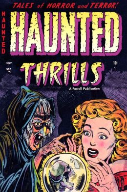 Haunted Thrills, Number 12, Terror Below (NOOK Comic with Zoom View): Digitally Remastered