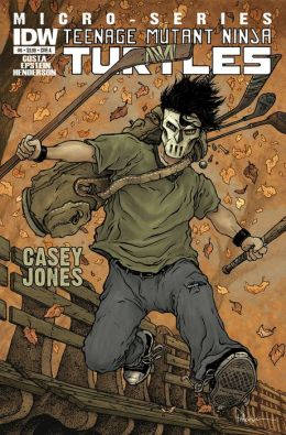 Teenage Mutant Ninja Turtles Microseries #6: Casey Jones