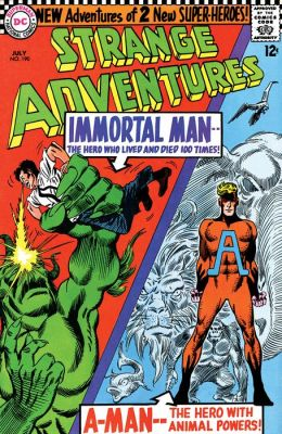 Strange Adventures (1950-1973) #190 (NOOK Comic with Zoom View)