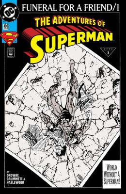 Adventures of Superman (1986-2006) #498 (NOOK Comic with Zoom View)
