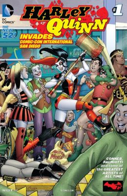 Harley Quinn Invades Comic-Con International: San Diego #1 (NOOK Comic with Zoom View)