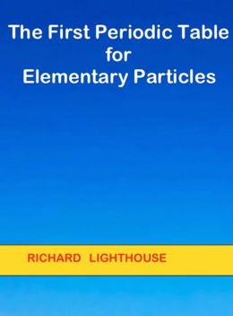 The First Periodic Table for Elementary Particles