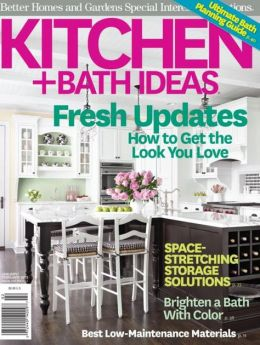 Better Homes And Gardens 39 Kitchen And Bath Ideas January February 2013 By Meredith Corp