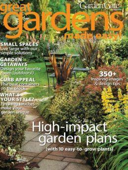 Garden Gate's Great Gardens Made Easy 2013