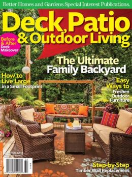 Better Homes And Gardens 39 Deck Patio And Outdoor Living