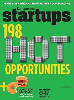 Entrepreneur's Startups - 2013