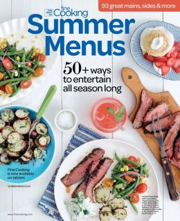Fine Cooking's Summer Menus 2013