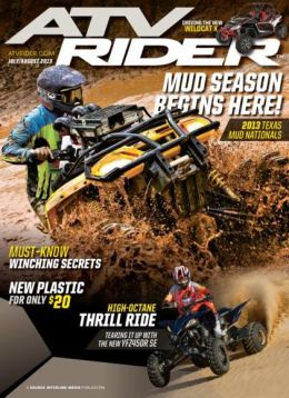 ATV Rider - July and August 2013