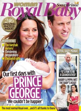 Woman Royal Baby Souvenir Issue