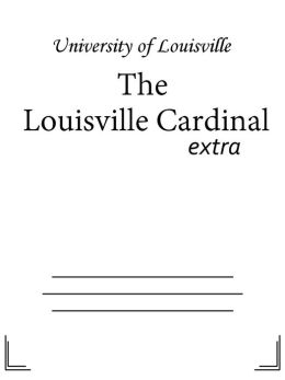 The Louisville Cardinal