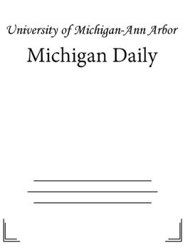 Michigan Daily