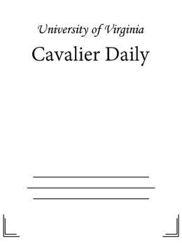 Cavalier Daily