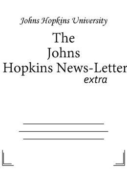 The Johns Hopkins News-Letter