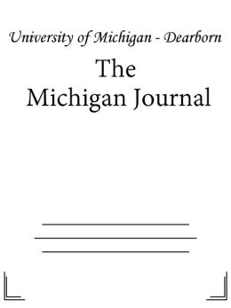The Michigan Journal