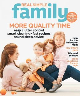 Real Simple Family 2013