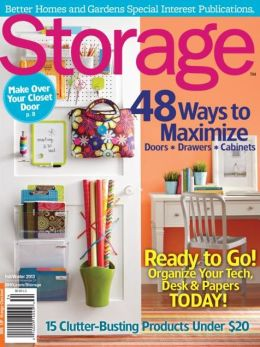 Storage Fall 2013 (A Better Homes and Gardens Special Interest Magazine)