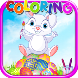 Coloring Book Easter