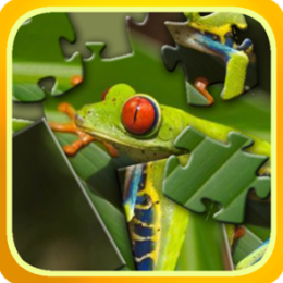 Frogs Jigsaw and Slider