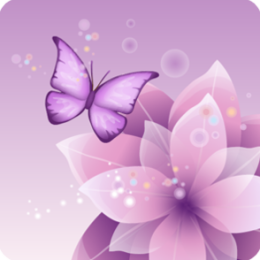 Butterfly Sparkle Live Wallpaper