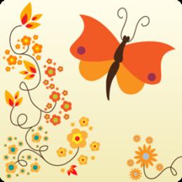 Orange Blossoms HD Live Wallpaper