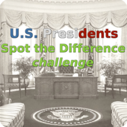 US Presidents Spot the Difference challenge