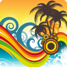 Tropical Wave Live Wallpaper