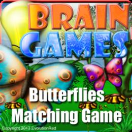 Butterflies Matching Game