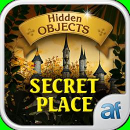 Hidden Objects Secret Place & 3 puzzle games