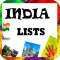 World Travel Lists (India)