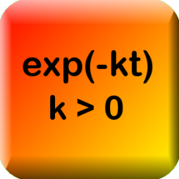 Exponential Decay Calculator (Nook Color and Tablet Edition)