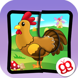 Farm Jigsaw Puzzles 123 - Fun Learning Puzzle Game for Kids