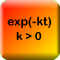 Exponential Decay Calculator (Nook HD Edition)